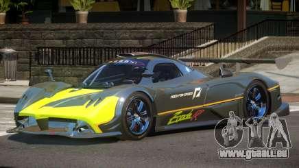 Pagani Zonda RS PJ4 pour GTA 4