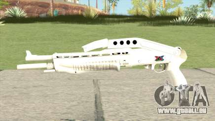 Combat Shotgun (White) pour GTA San Andreas