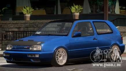 Volkswagen Golf Tuned pour GTA 4
