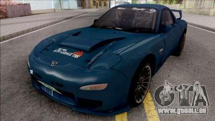 Mazda RX-7 FD3S Efini TBK für GTA San Andreas