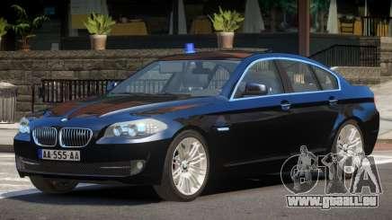 BMW M5 F10 FBI V1.0 für GTA 4