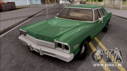 Dodge Monaco 1974 Green pour GTA San Andreas