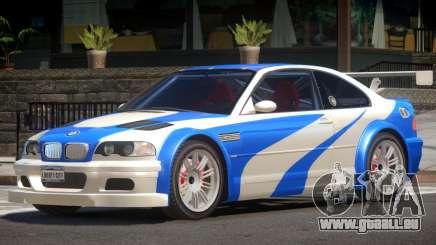 BMW M3 GTR V1.0 pour GTA 4