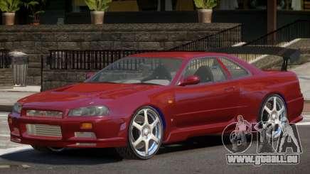 Nissan Skyline GT-R34 RS pour GTA 4