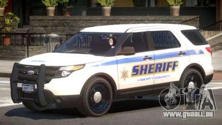 Ford Explorer Police V1.2 für GTA 4