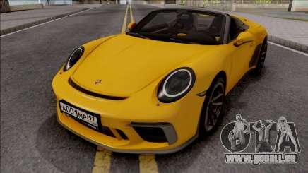 Porsche 911 Speedster 2020 für GTA San Andreas