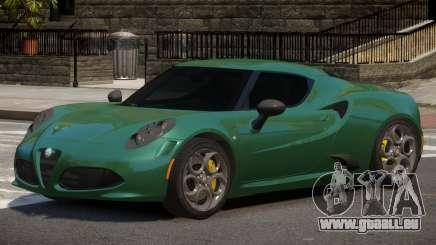 Alfa Romeo 4C ST pour GTA 4