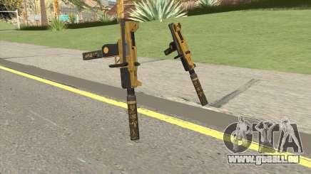 Micro SMG (Luxury Finish) GTA V Suppressor V2 pour GTA San Andreas