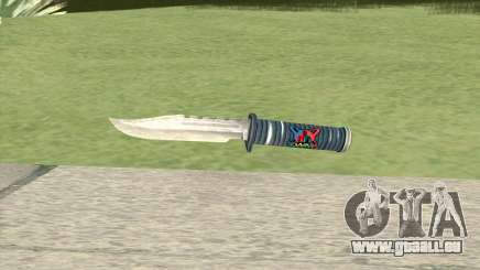 Knife (White) pour GTA San Andreas