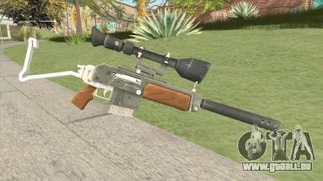 Semi-Automatic Sniper (Fortnite) pour GTA San Andreas