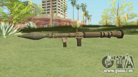 Rocket Launcher GTA V (Army) pour GTA San Andreas