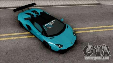 Lamborghini Aventador LP700-4 Roadster LW pour GTA San Andreas