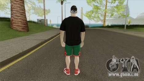 Zlatan Ibrahimovic pour GTA San Andreas
