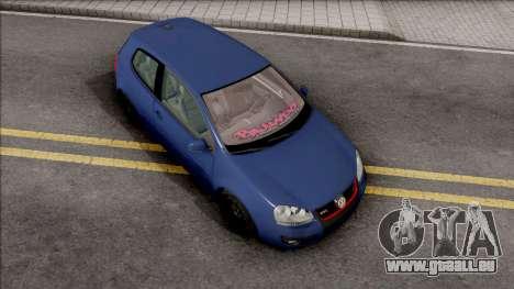 Volkswagen Golf Mk5 Low pour GTA San Andreas