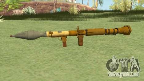 Rocket Launcher GTA V (Gold) pour GTA San Andreas