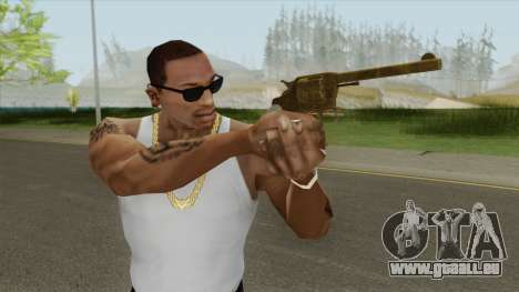 Double Action Revolver (Gold) GTA V pour GTA San Andreas