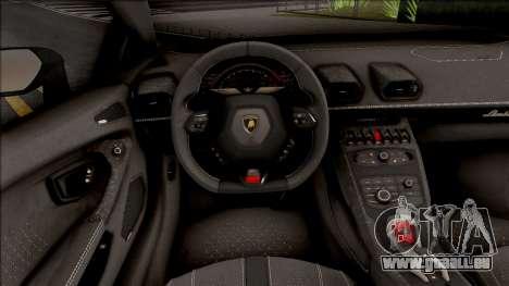 Lamborghini Huracan LP 580-2 für GTA San Andreas