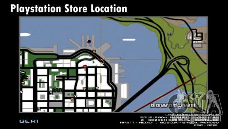 Playstation Store (PS4 Store) pour GTA San Andreas