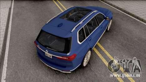 BMW X7 2020 Low Poly pour GTA San Andreas