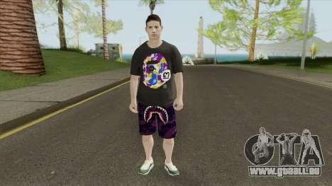 James Rodriguez pour GTA San Andreas