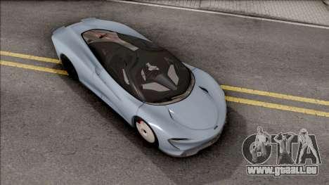 McLaren Speedtail 2019 pour GTA San Andreas