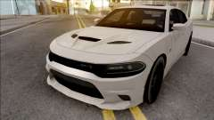 Dodge Charger SRT Hellcat 2019 Low Poly