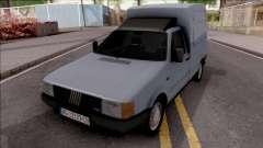 Fiat Fiorino Panel Van 1987