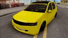 Dacia Logan 2004 Minion Edition pour GTA San Andreas
