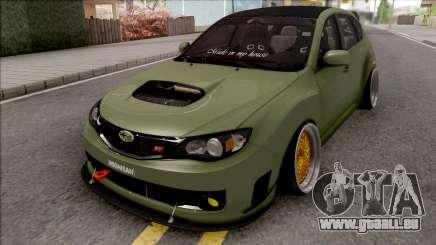 Subaru Impreza WRX STI 2009 pour GTA San Andreas