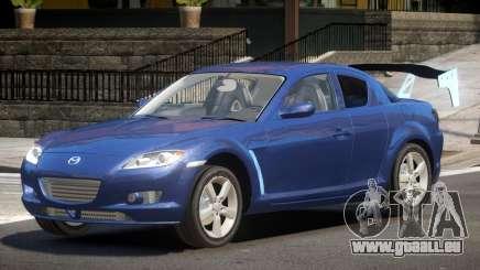 Mazda RX8 Tuning pour GTA 4