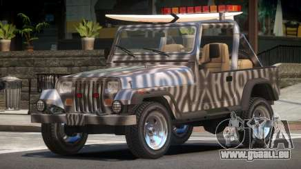 1988 Jeep Wrangler PJ4 pour GTA 4