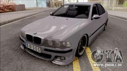 BMW M5 E39 Romanian Plate für GTA San Andreas