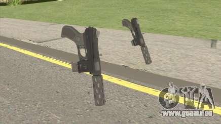 Vom Feuer Machine Pistol GTA V pour GTA San Andreas