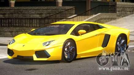 Lamborghini Aventador SS pour GTA 4