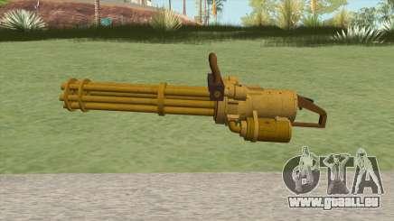Coil Minigun (Gold) GTA V pour GTA San Andreas