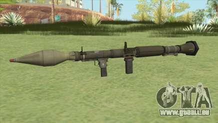 Rocket Launcher GTA V (Green) pour GTA San Andreas