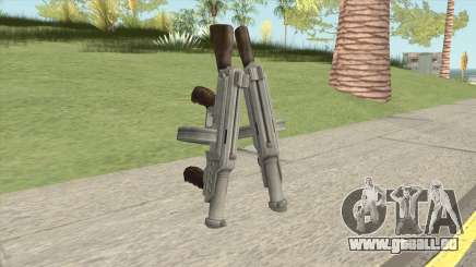 Big Double Submachine Gun pour GTA San Andreas