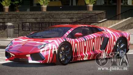 Lamborghini Aventador SS PJ5 pour GTA 4