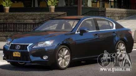 Lexus GS V1.1 pour GTA 4