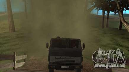 Der Klang des Motors von KAMAZ-740 für GTA San Andreas
