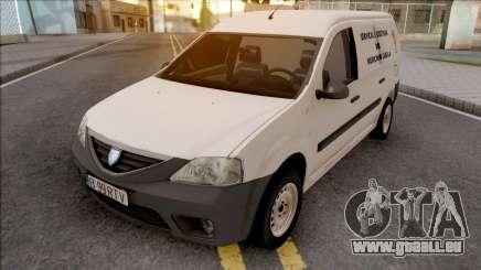 Dacia Logan MCV Van 2008 Medicina Legala für GTA San Andreas
