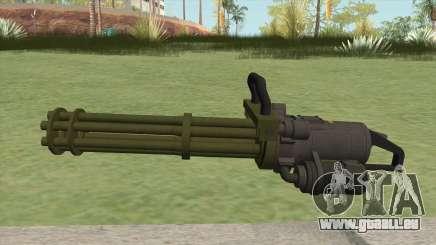 Coil Minigun (Green) GTA V pour GTA San Andreas