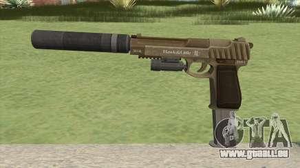 Pistol .50 GTA V (Army) Full Attachments pour GTA San Andreas