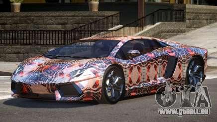 Lamborghini Aventador SS PJ2 pour GTA 4
