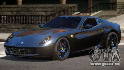 Ferrari 599 GTS V1.0 pour GTA 4