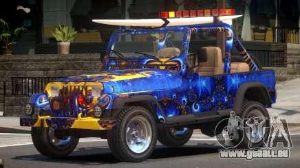 1988 Jeep Wrangler PJ3 pour GTA 4