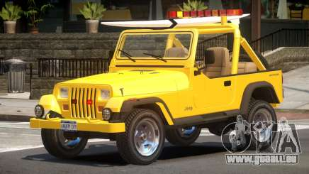 1988 Jeep Wrangler V1.0 pour GTA 4