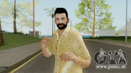 Tommy Vercetti Skin (With Beard) pour GTA San Andreas