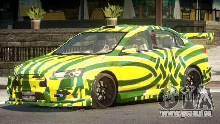 Mitsubishi Lancer X Tuned PJ1 für GTA 4