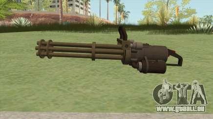 Coil Minigun (Army) GTA V pour GTA San Andreas